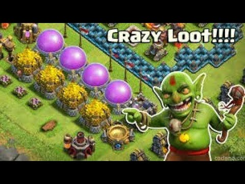 How to get more loot and all thing max level do in coc 5-10    town hall level 11 make  in 5 minutes