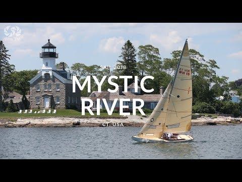 Sail Mystic River, CT USA  | SeaTV