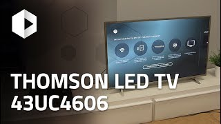 Review Thomson 4K LED TV 43UC6406. Análisis en español
