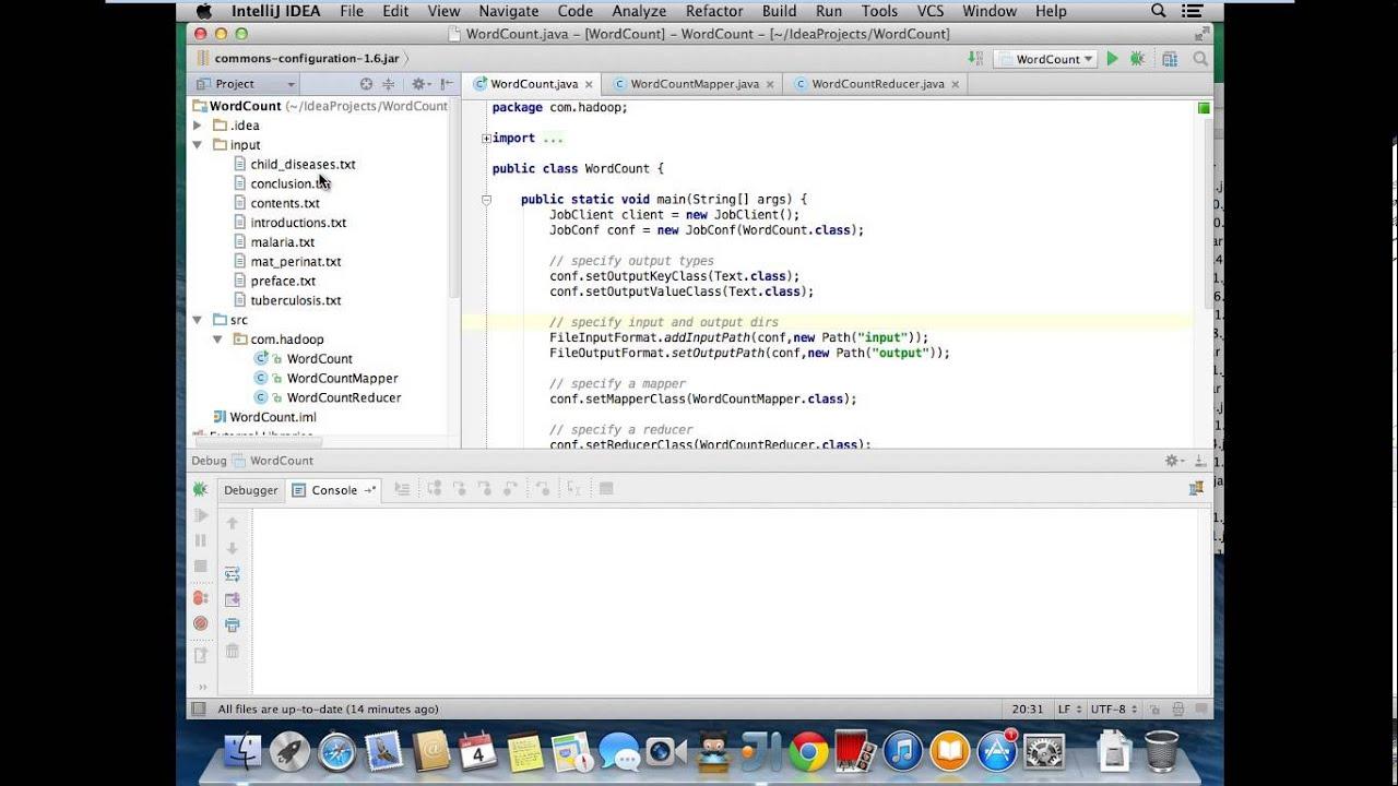 Hadoop Mapreduce Debugging with Intellij IDEA