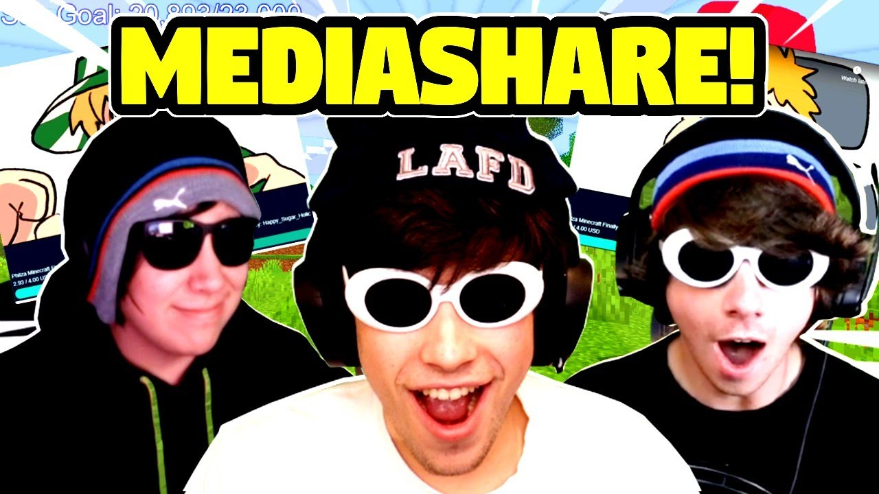 George, Quackity & Karl REACT To FUNNY DREAM SMP MEDIASHARE!