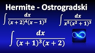 285. Integrales: Método de Hermite - Ostrogradski, EXPLICACION COMPLETA