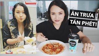 ĂN TRƯA & TÁN PHÉT CÙNG MÌNH | Vlog | Giang Ơi