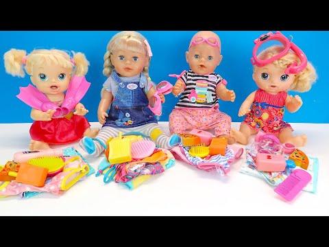 #Куклы Собираются в Бассейн Соня Расстроена Как Мама Играла с Беби Бон Мультик 108мама тв