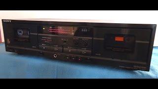 Sony TC-W411 Dual Cassette Deck