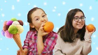 ÖYKÜ DONDURMA YEMEK İSTİYOR & Ice cream, Learn Colors