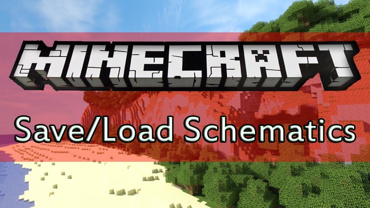 Minecraft worldedit tutorial save and load schematics youtube sciox Images