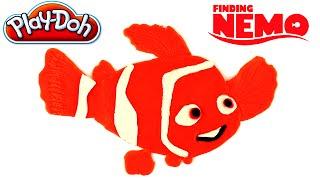 ♥ Play-Doh Fiding Nemo Character Playdough Plasticine Plastilina Plastiline Creative for Children