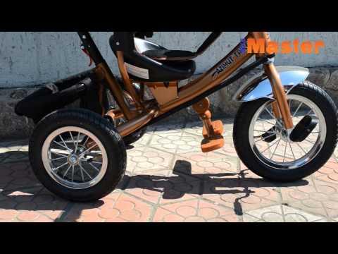 Azimut Trike (BC-17B-AIR-BIG). Обзор детского трехколесного велосипеда