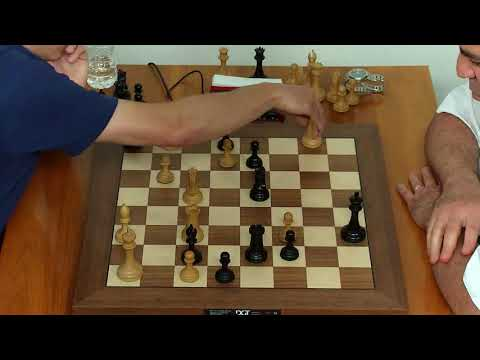 How Nervous Kasparov Checkmated Caruana With 3 Sec Left in his Clock