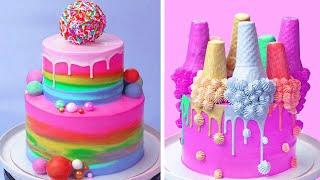 Best Colorful Chocolate Cakes Recipes  Amazing Chocolate Cake Decorating Ideas  Extreme Cake
