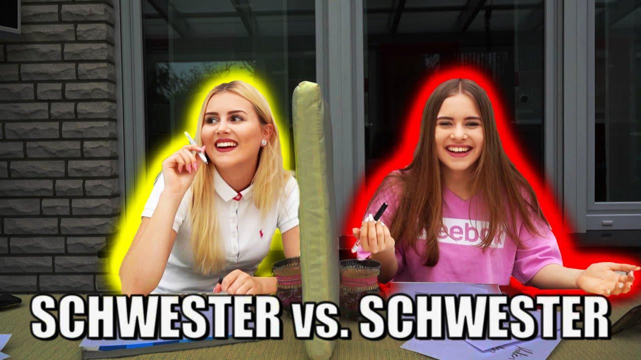 Wie GUT kennt meine SCHWESTER MICH? || DAILY VIDEO 236
