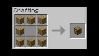 Minecraft How to crąft everything Part 1
