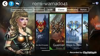 Gems of wars (version portable) je me suis surpassé
