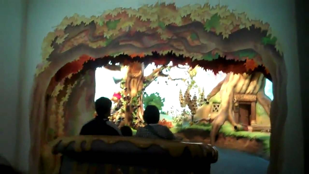 Tokyo Disneyland Poohs Hunny Hunt  YouTube