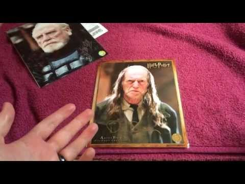 Harry Potter/Game of Thrones Autographs! David Bradley and James Cosmo! The Signature Shop