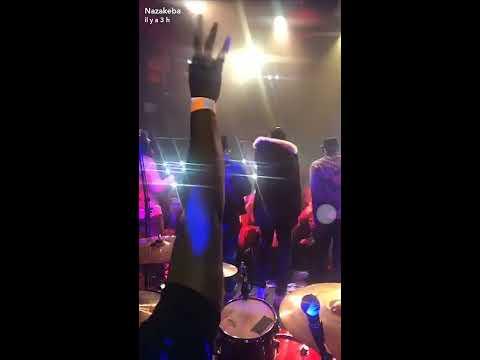 Naza et Keblack au concert de Hiro du 1er Mars 2018