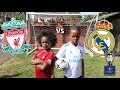 Real Madrid Vs Liverpool Champions League Final Challenge!!