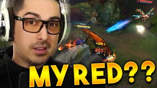 YOU THOUGHT YOU COULD TAKE MY RED???  @Trick2G