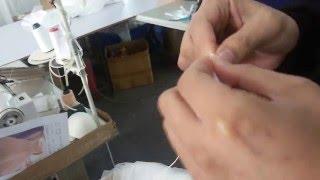 Как сделать шнуровку для свадебного платья