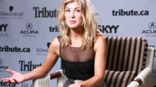 "Rosamund pike sat down with http://www.tribute.ca at the 2010 toronto international film festival to talk about her role in new ""barney's version"" ..."