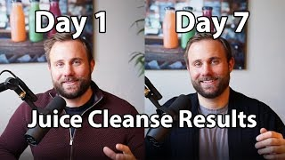 One Week Results - Juice Cleanse Day 7