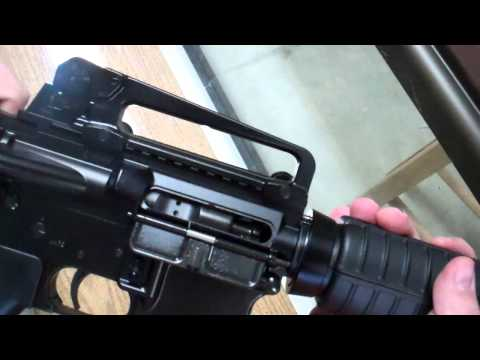 Bushmaster AR15 M4 Patrolman A3 Review @ Trigger Happy - YouTube