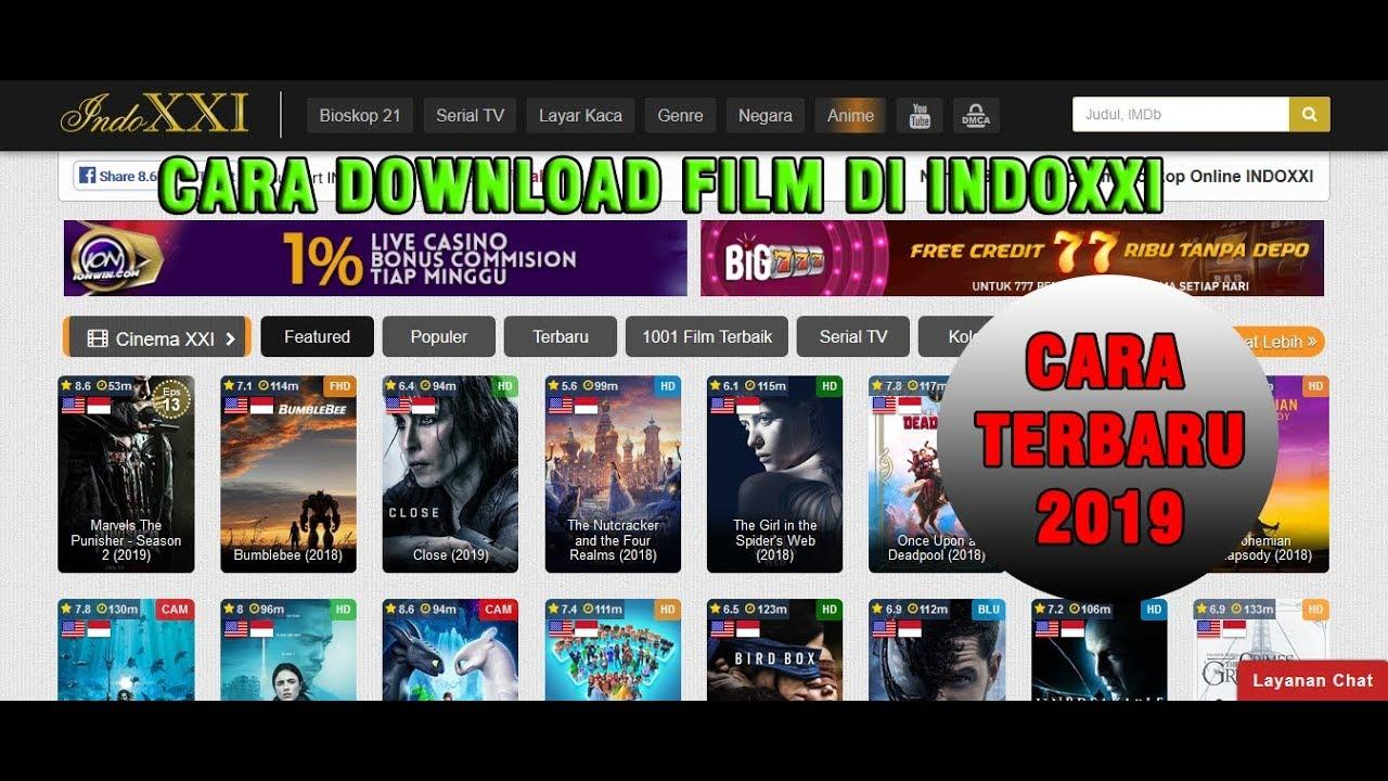 Cara Mudah Download Film HD di INDOXXI Terbaru 2019