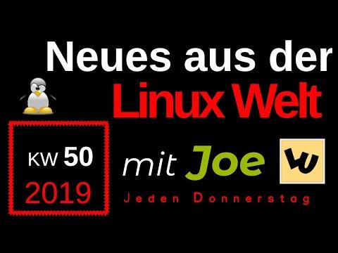 💻 Neues aus der Linux Welt - Mit Joe - KW 50 - Linux News Deutsch 💻 Linux Umsteiger
