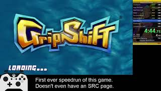 GripShift Beginner All Levels 7:51 (Current WR)