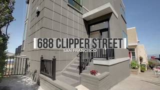 Home Tour - 688 Clipper St, San Francisco - Remodeled Modern Home In Noe Valley