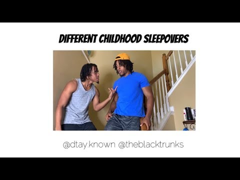 Different Childhood Sleepovers