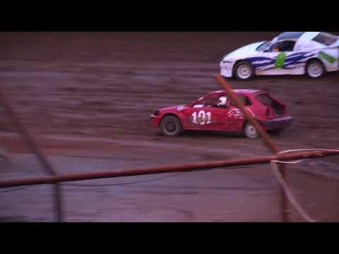 Legendary Hilltop Speedway 4 Cylinder Heat Race #2  3-31-18
