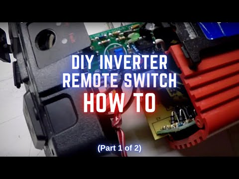 Hacking a Harbor Freight Cen-Tech 750 watt Inverter to work with a Remote Switch