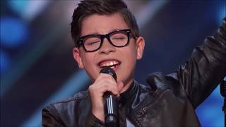 """12-Years-Old Angel Garcia WOWS The Judges With """"El Triste"""" By Jose Jose"""