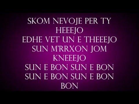Era Istrefi Bonbon lyrics (me tekst)