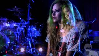My Happy Ending- Avril Lavigne, AOL SESSIONS 2011