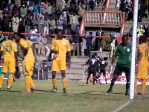 Highlanders FC scores against FC Platinum - YouTube