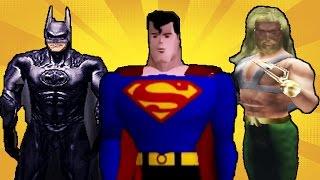 Super Heroes in Video Games