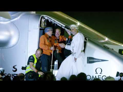 Solar Impulse flies the first leg from Abu Dhabi to Oman