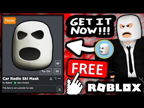 FREE ACCESSORY! HOW TO GET Car Radio Ski Mask! (ROBLOX TWENTY ONE PILOTS EVENT)