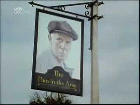 One Foot In The Grave Pub Sign Youtube