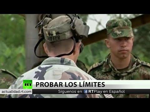 RT en Español: Polémica por maniobras militares conjuntas de EE.UU. y Colombia