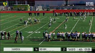 Top 10 Plays of the NDWH 2017-18 Sports Season