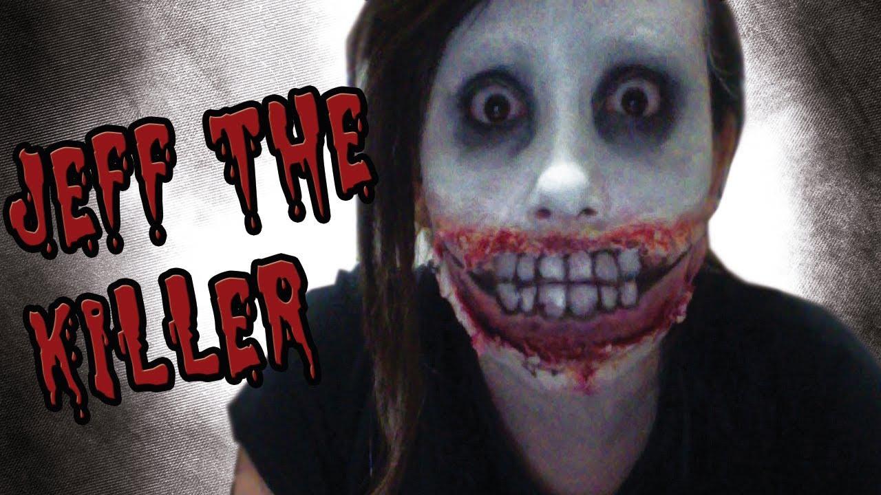 Jeff Killer Makeup Smile