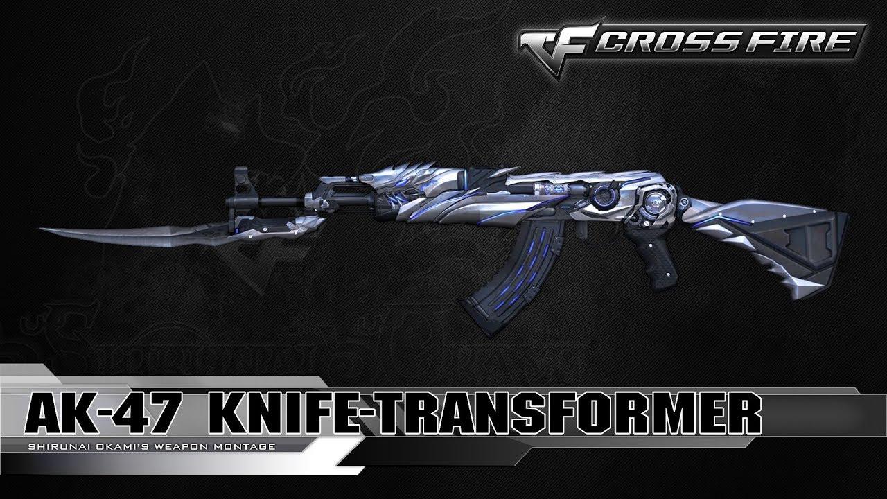 Chia Sẻ Nick CF | Acc 2 VIP AK 47 Transformer & B.C Axe Beast & M1896 UGS
