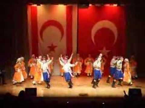 KIBRIS TÜRK FOLKLORU (Turkish Cypriot Folk Dance)