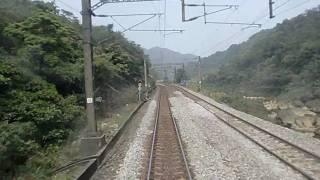 台湾 宣欄線 三貂嶺・猴硐駅間 区間車3216号 上行 走行