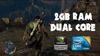 Midle  Earth Shadow of Mordor - Intel Core 2 Duo | GT520 | 2GB RAM