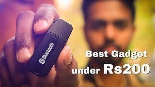 Best gadget on amazon under Rs200 - This Bluetooth Reciever is amazing